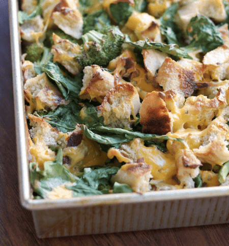RecipeTin Eats | Essential Breakfast Casserole Stratas | Broccoli and Spinach Strata