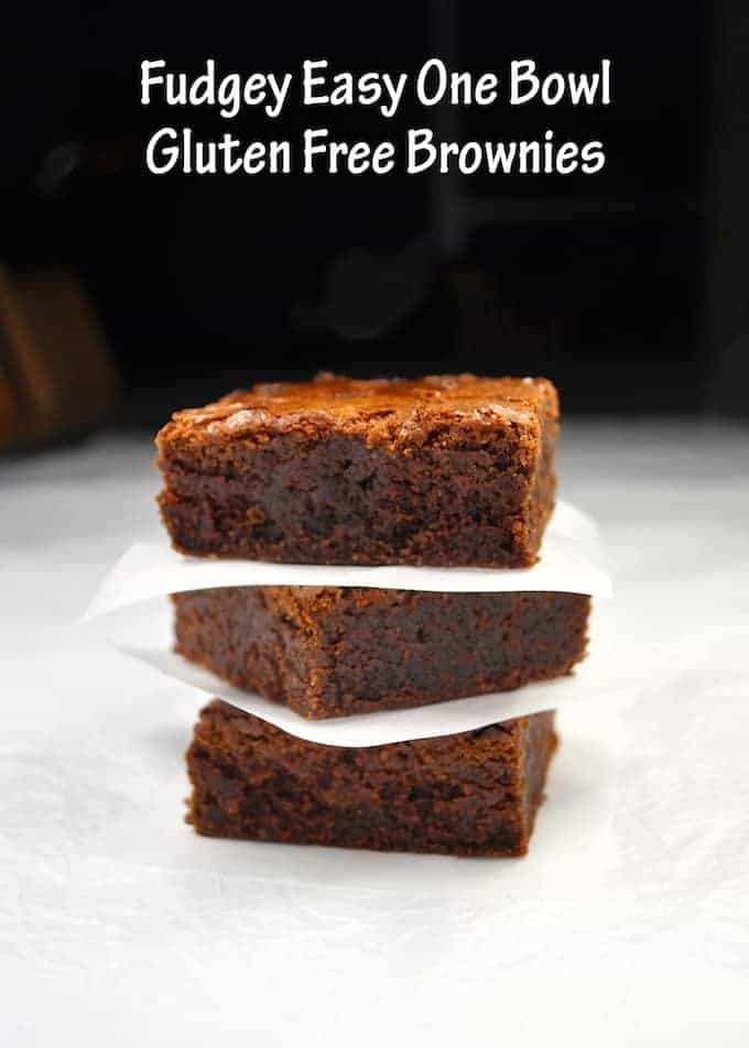 "RecipeTin Eats | Brownies - Fudgey, Gluten Free, One Bowl - my ""go to"" brownies and I'm not even gluten intolerant!"