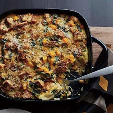RecipeTin Eats | Breakfast Casserole Strata Essentials | Butternut Squash Kale Strata