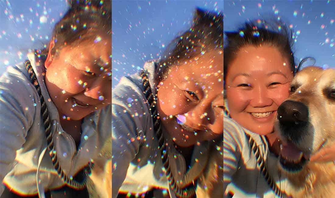 Nagi Dozer selfie attempt