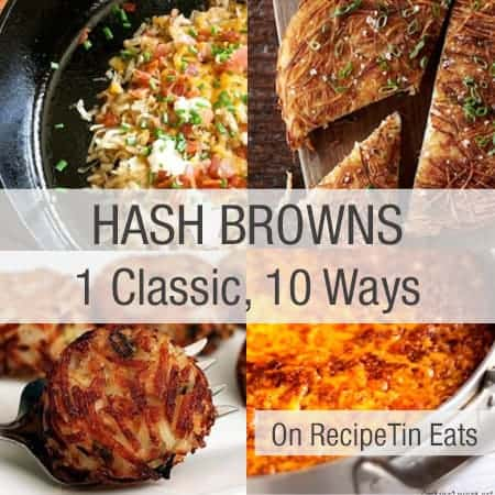 10 Ways To Get Your Hashbrown Fix This Weekend