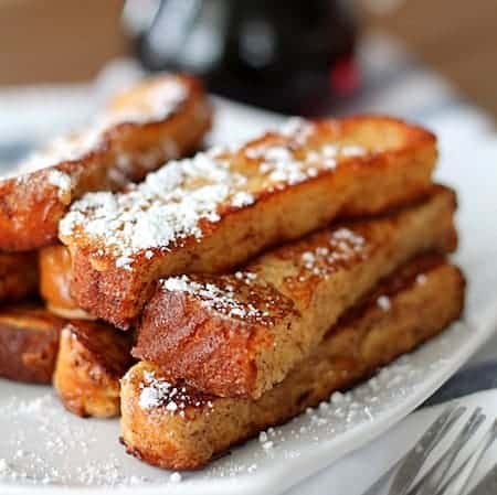 ... more irresistible for kids! French Toast on a Stick by Weelicious