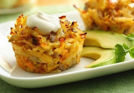 Mexican Hash Brown Cups