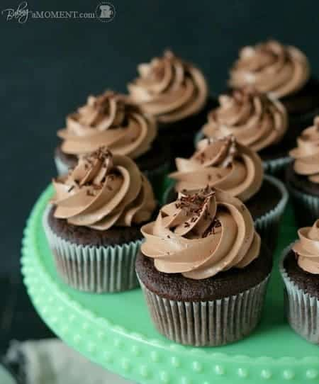 Mini Chocolate Cupcakes With Multicolored Frosting Recipes ...