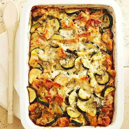 RecipeTin Eats | Essential Breakfast Casseroles Stratas | Zucchini Strata