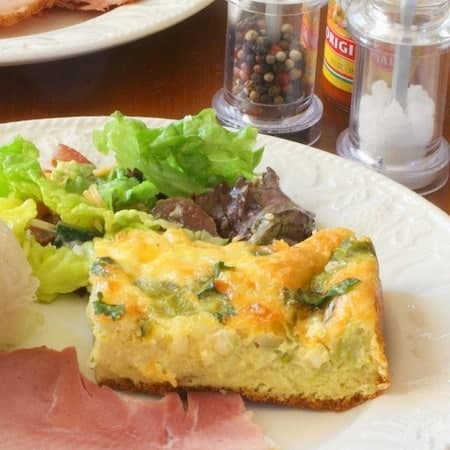 RecipeTin Eats | Essential Breakfast Casserole Stratas | South West Green Chili Strata