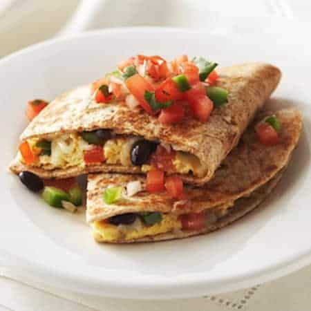 Southwest Breakfast Quesadillas