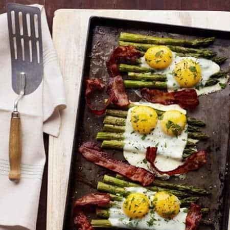 Bacon & Egg Asparagus
