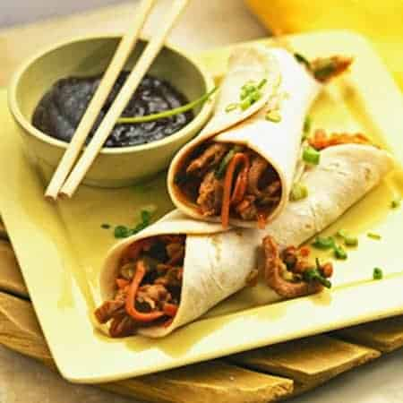 24 Things To Make With Tortillas: Mu Shoo Pork Wraps