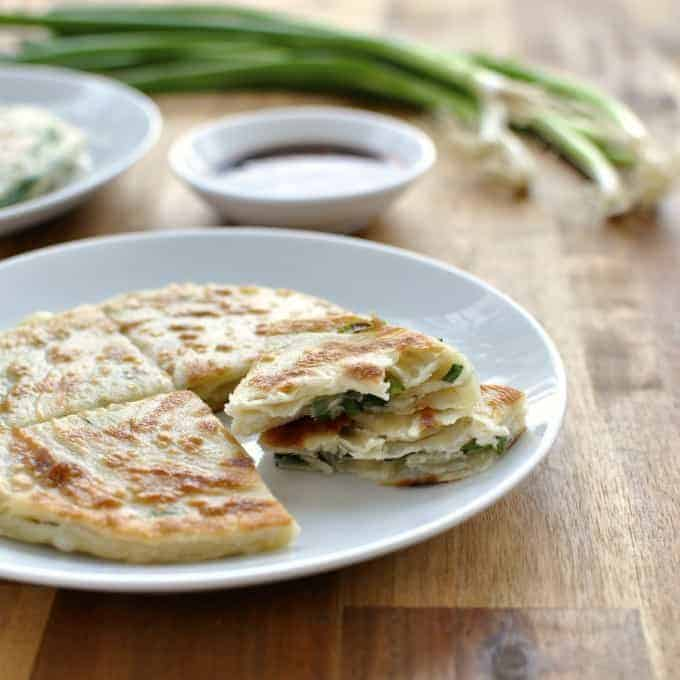 Scallion Shallot Pancakes - my favourite Chinese restaurant treat at home! Super easy, unbelievably good.