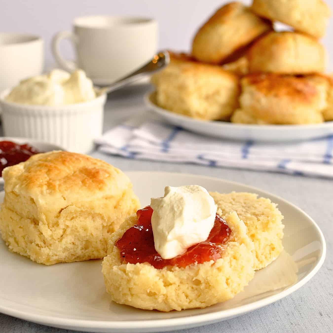 Easy recipes of scones