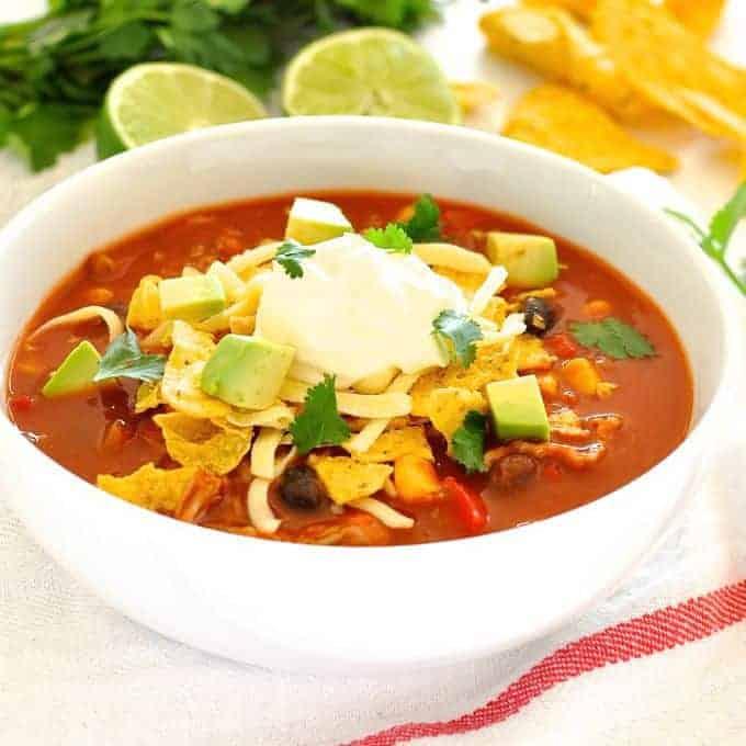 Express Taco Soup