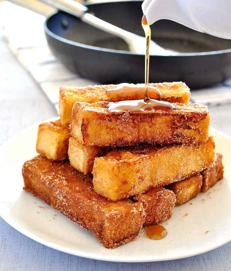 - French toast you can eat with your fingers, tastes like cinnamon ...