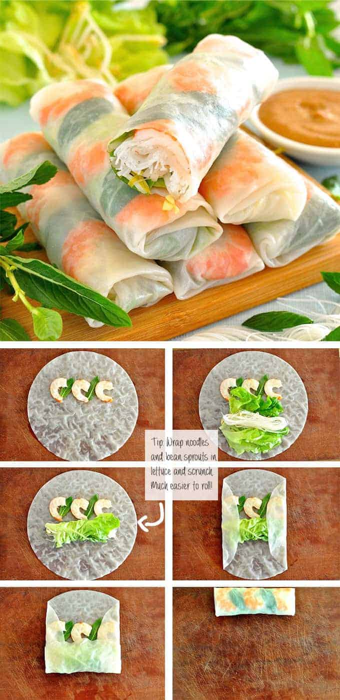 [Vietnamese Recipes] Rice Paper Spring Rolls