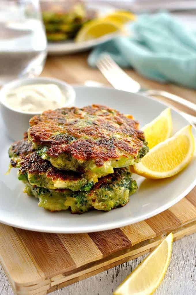 Broccoli Fritters | RecipeTin Eats