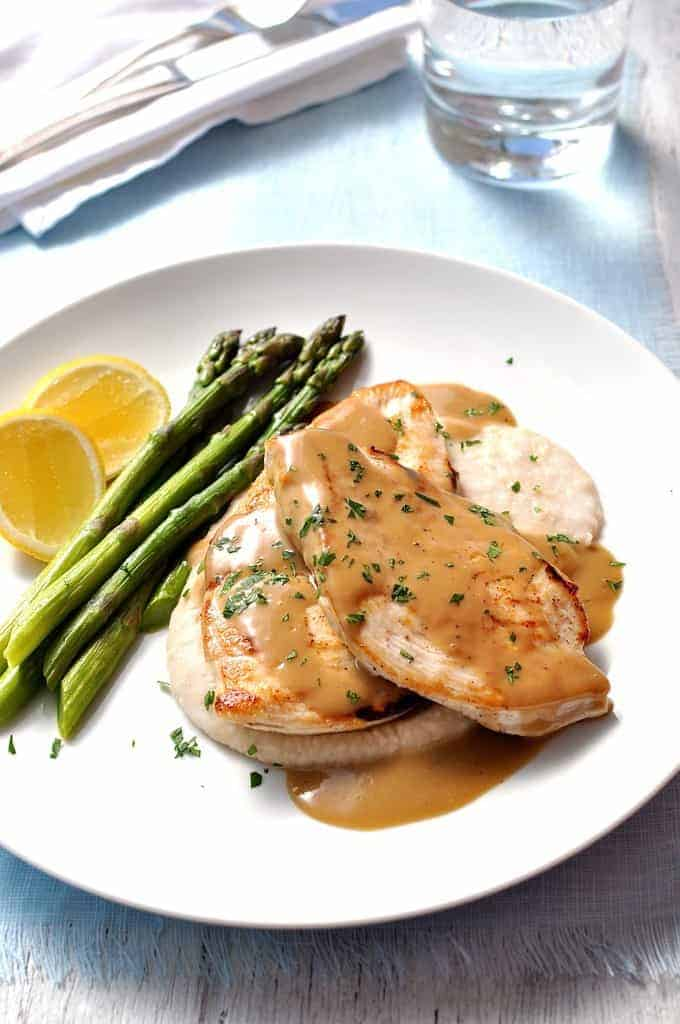 scaloppine with lemon maxime iattoni veal piccata tender veal veal ...