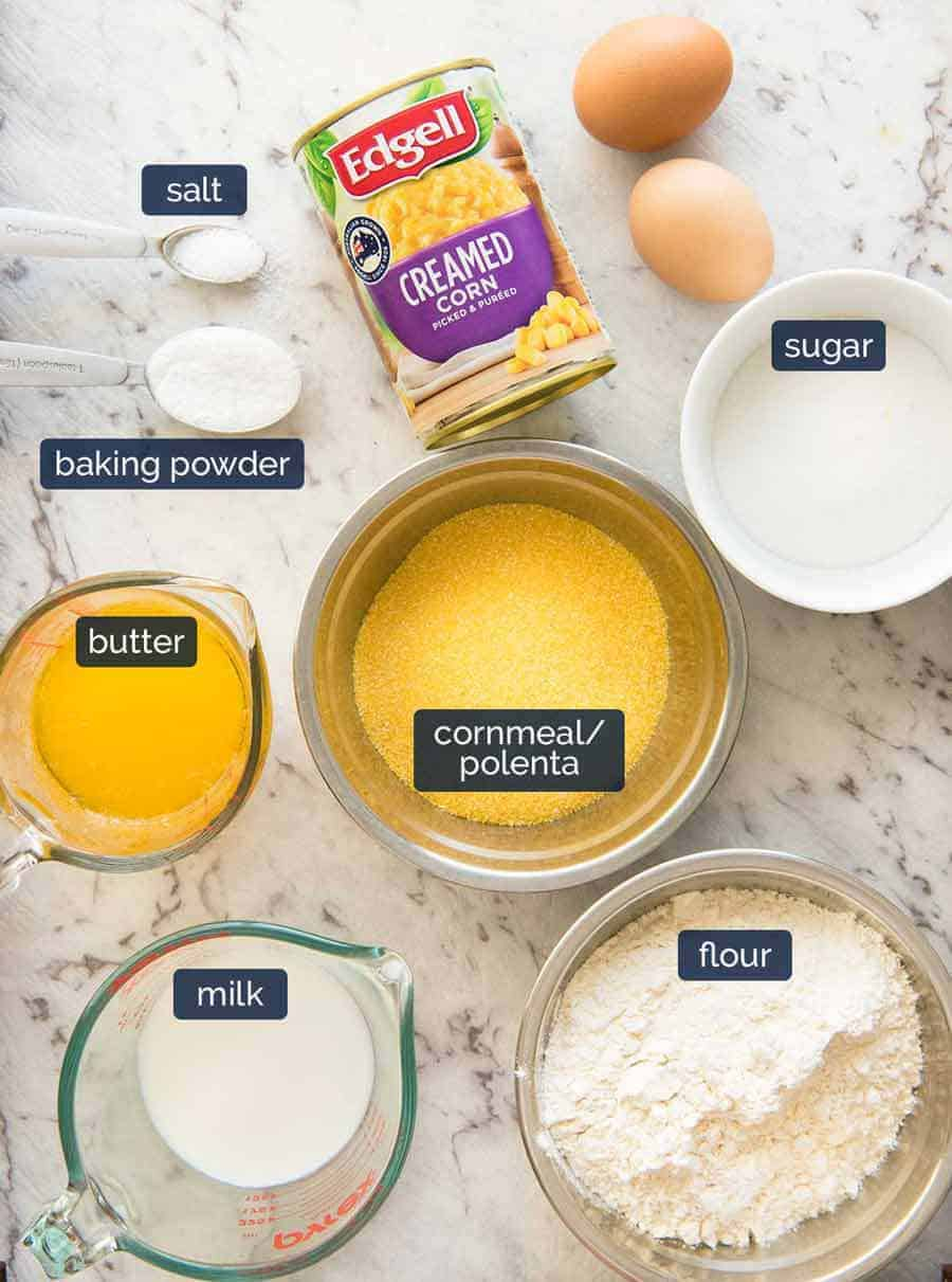 What goes in Cornbread Muffins?