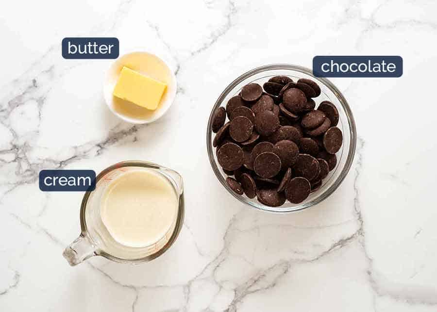 What goes in Chocolate Truffles