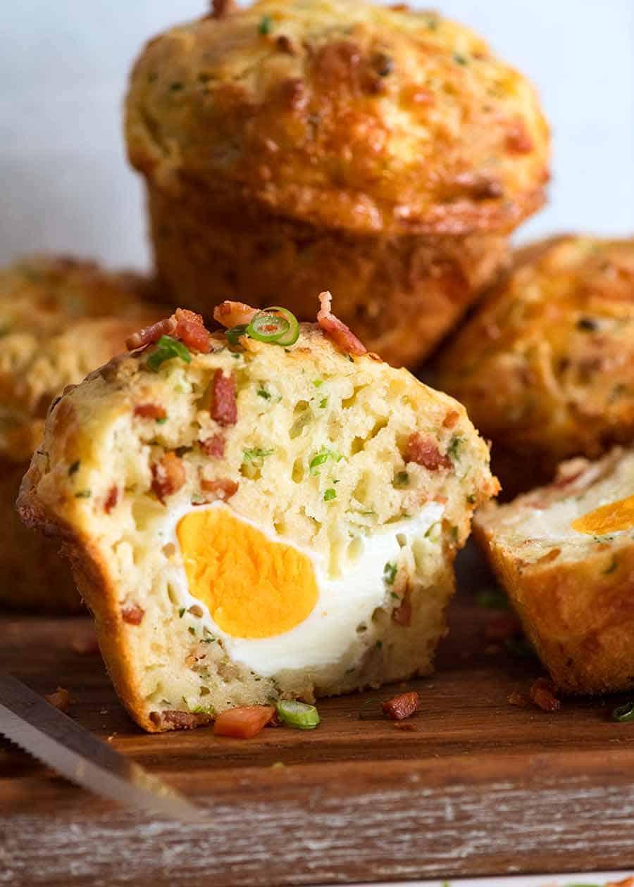 Bacon Egg Breakfast Muffins Recipetin Eats