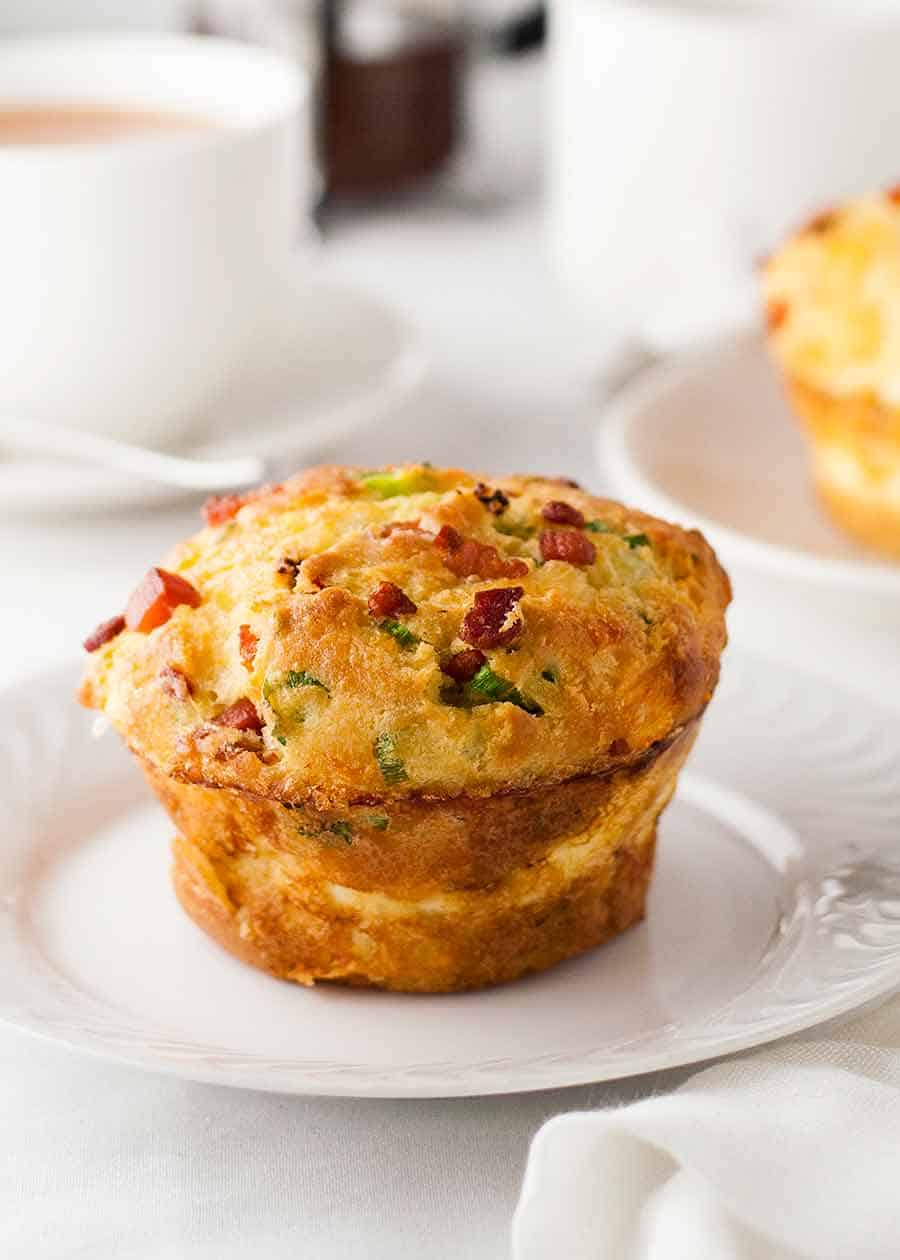 Bacon Egg Breakfast Muffins Recipetin Eats