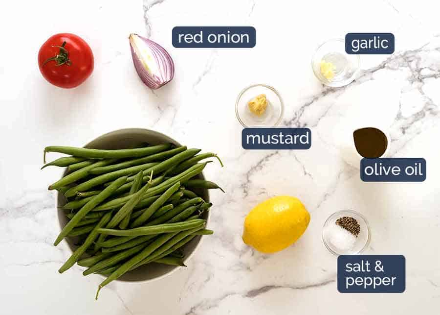What goes in Green Bean Salad