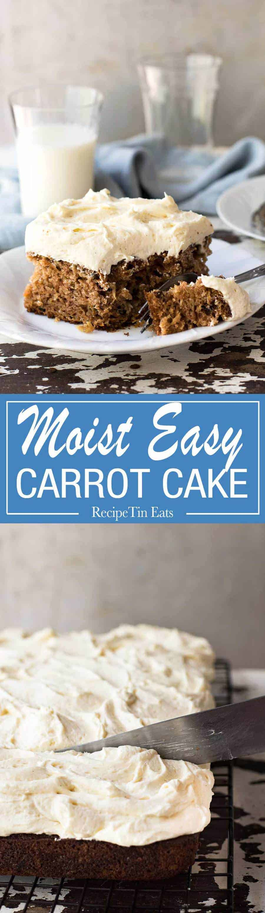 LOVE this! Super moist, super easy, no mixer required, and loads of fluffy frosting!
