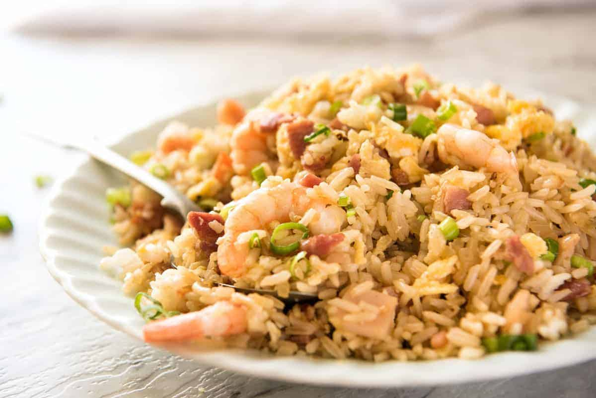 Chinese Fried Rice - A recipe for those who want Chinese Fried Rice that really does taste like what you get at restaurants..