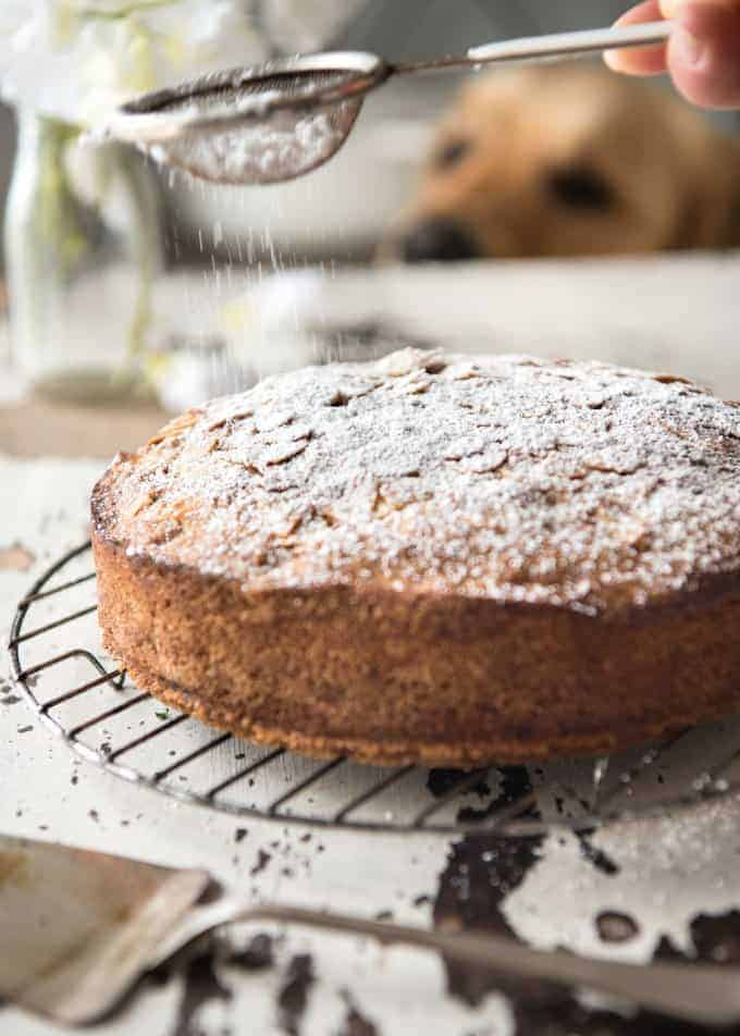 Hands down, the easiest and BEST Apple Cake recipe you will ever try! Made with fresh apples, no electric mixer required to make this beautiful moist cake. www.recipetineats.com