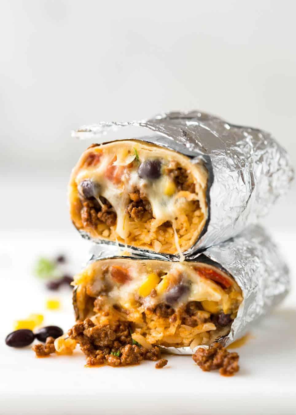 Beef Burrito Recipetin Eats