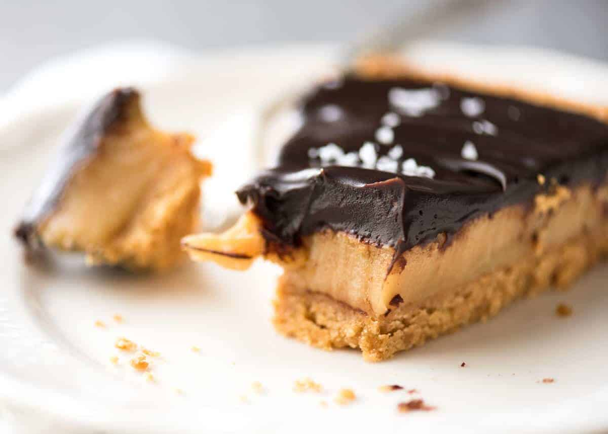 Salted Caramel Tart Recipetin Eats