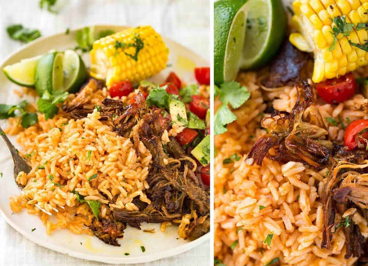 Carnitas Mexican Slow Cooker Pulled Pork Recipetin Eats
