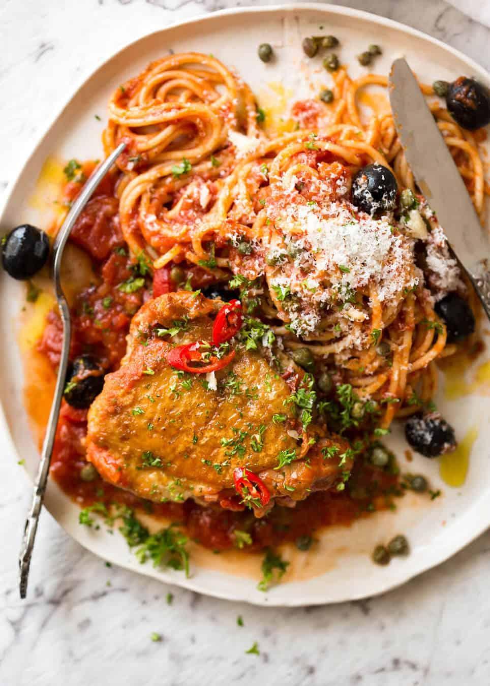 Spicy Italian Chicken Casserole Recipetin Eats