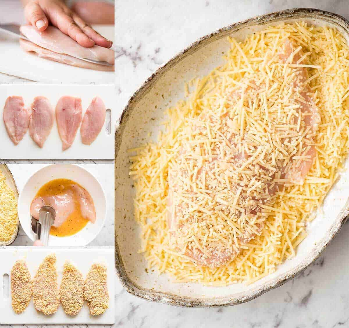 How to make Parmesan Crusted Chicken Breast