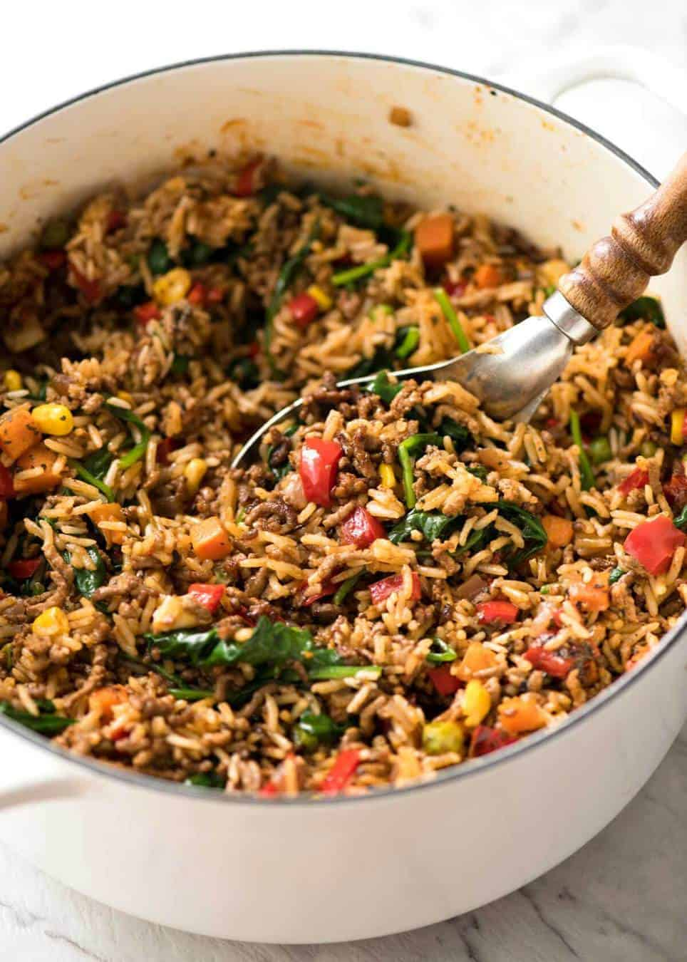Beef and Rice with Veggies | RecipeTin Eats