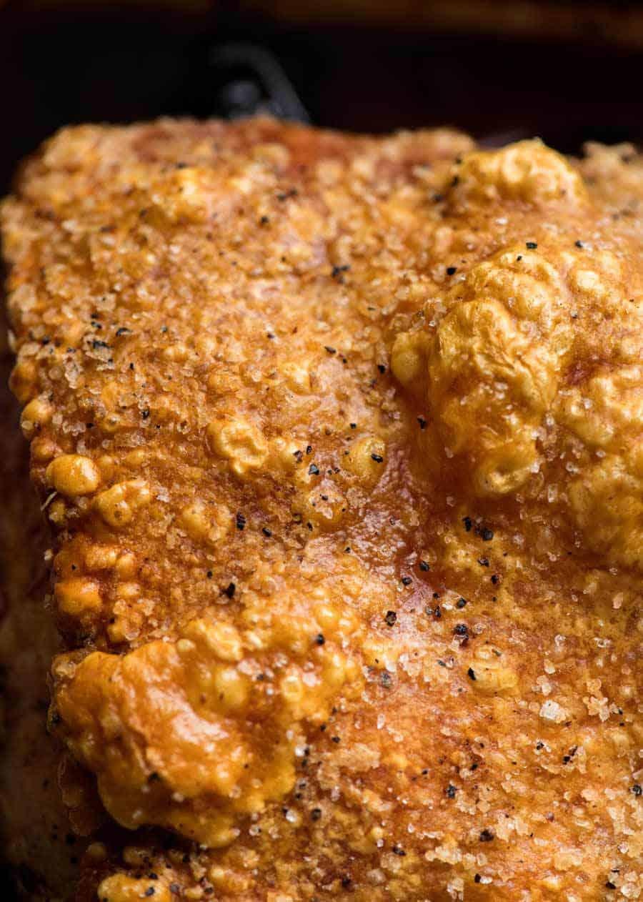 Slow Roasted Pork Shoulder with Crispy Pork Crackling