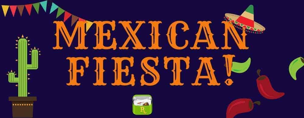 Mexican Fiesta menu plan