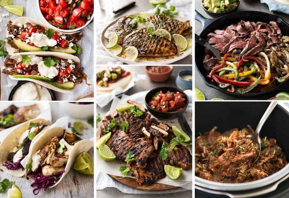 Taco Filling Recipes - Mexican recipes on RecipeTin Eats