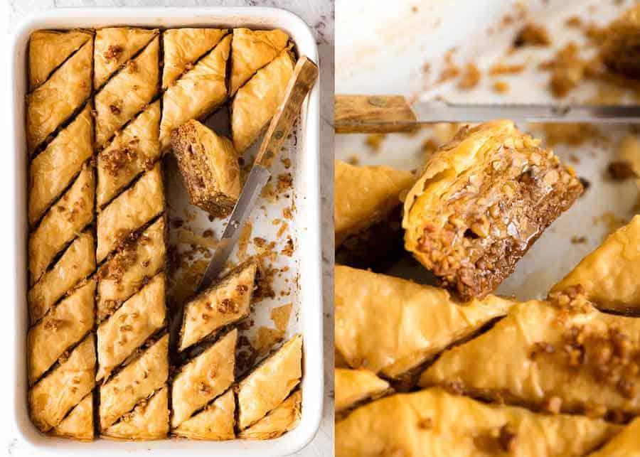 Greek Baklava for Greek Feast