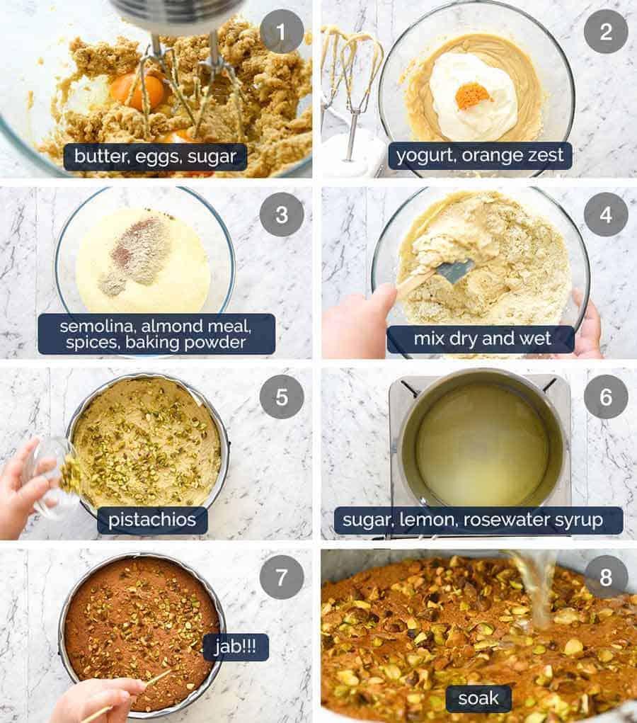 How to make Persian Love Cake