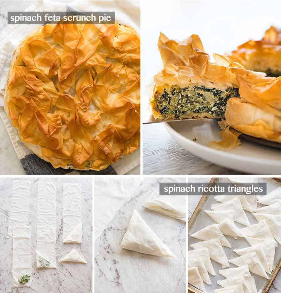 Things to make with leftover Phyllo Pastry