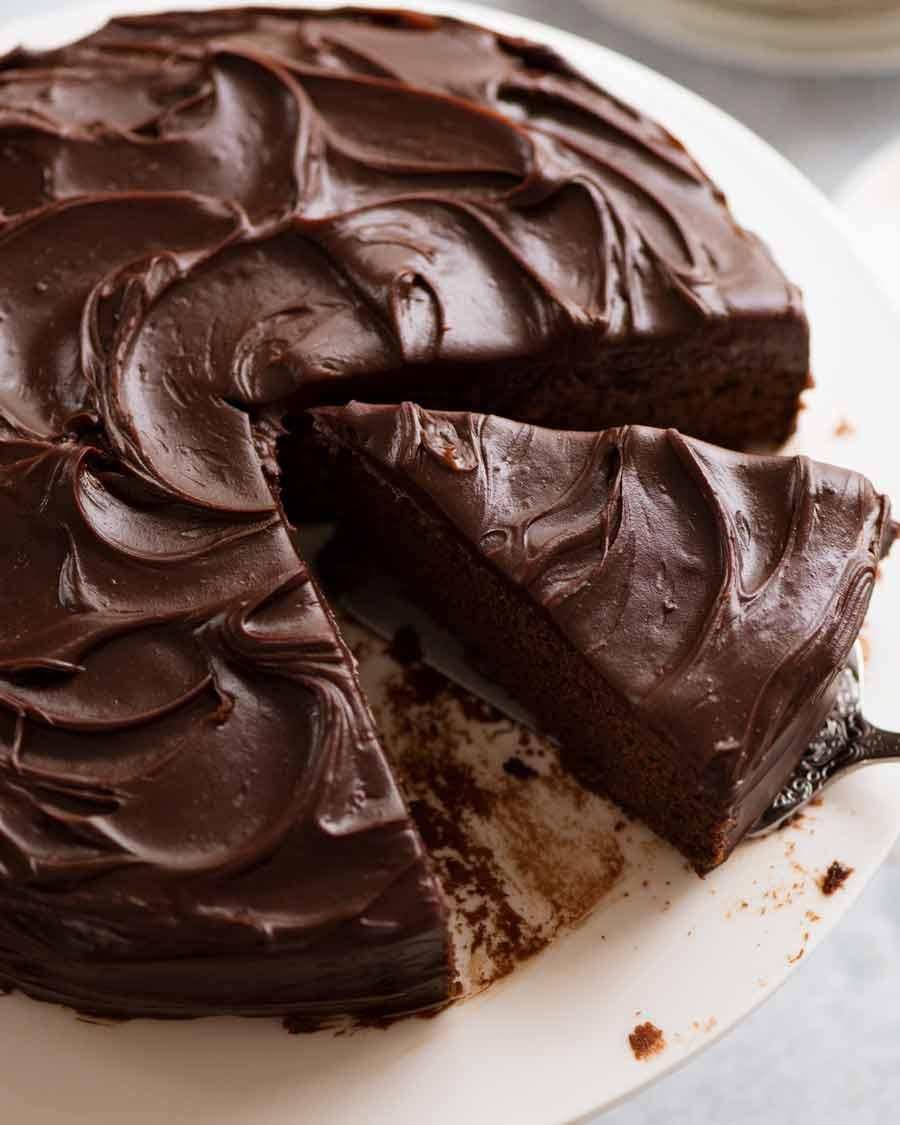 Astonishing Easy Chocolate Fudge Cake Recipetin Eats Funny Birthday Cards Online Hendilapandamsfinfo