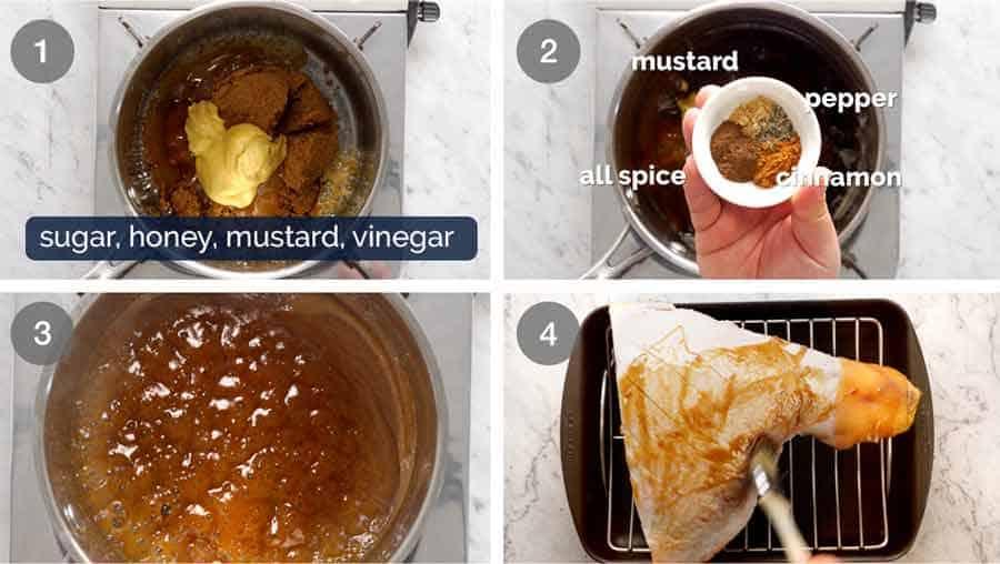 How to make Brown Sugar Ham Glaze