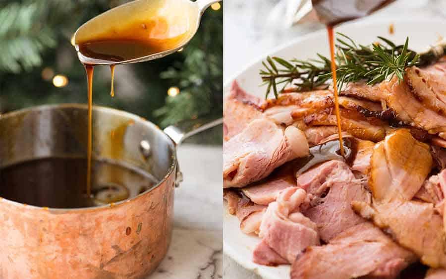 Sauce for Christmas Glazed Ham