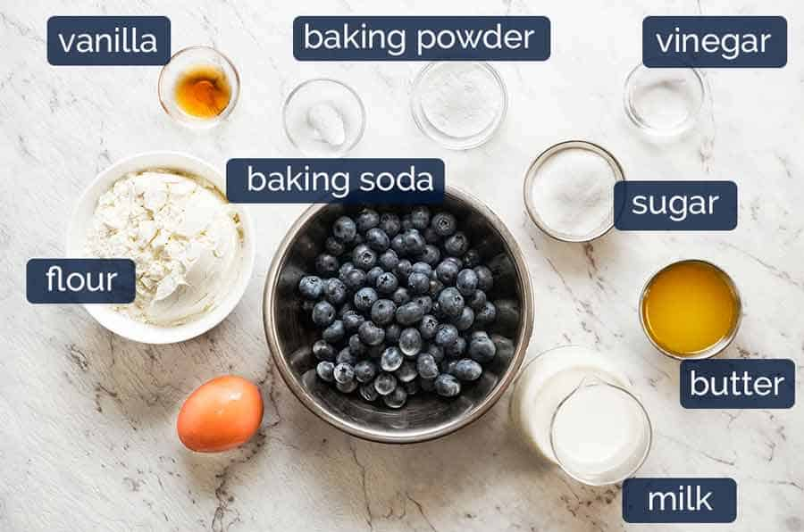How do you make Fluffy Blueberry Pancakes?