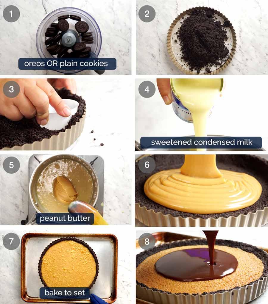 How to make Peanut Butter Caramel Pie