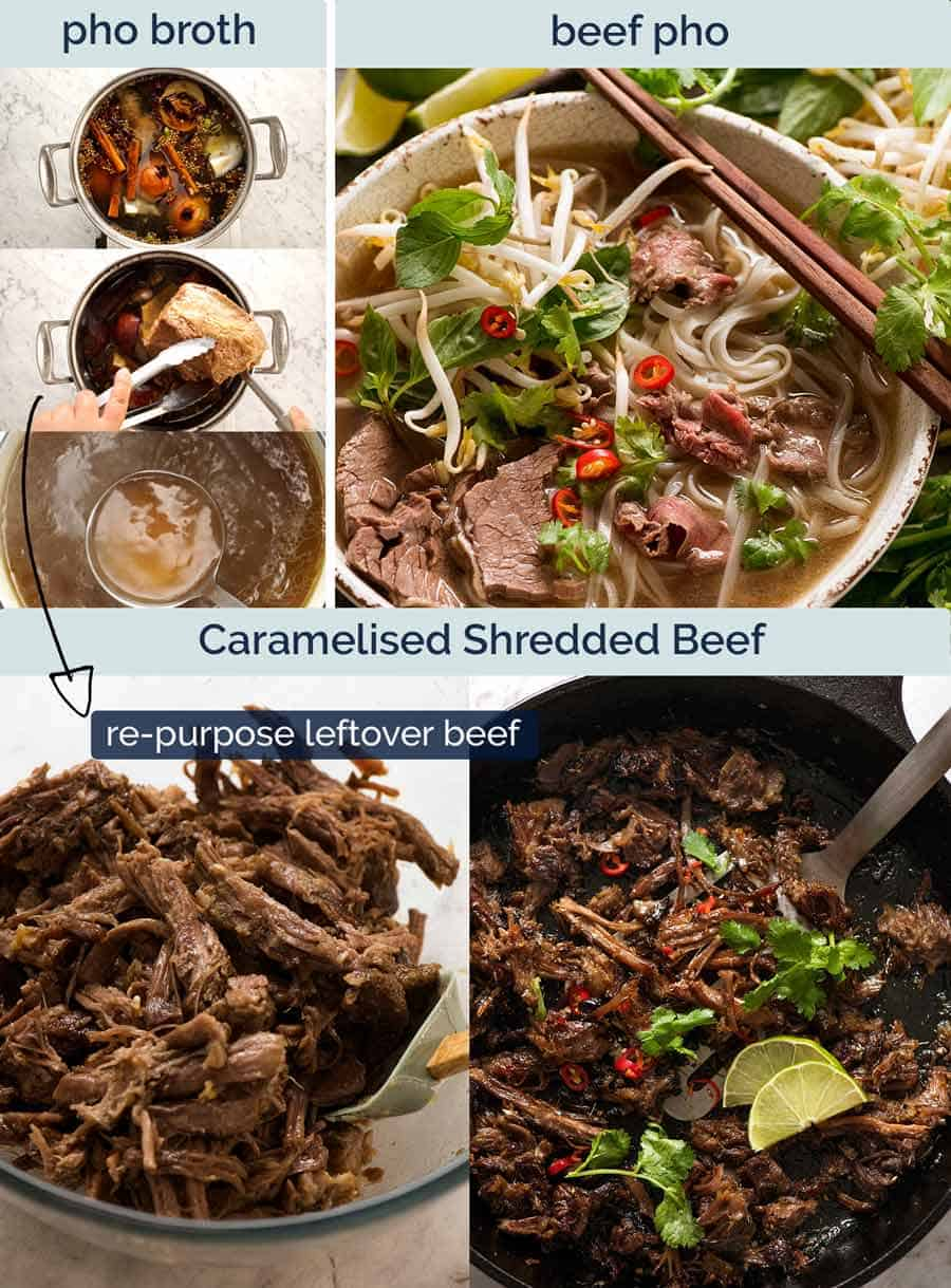 Caramelised Vietnamese Shredded Beef Recipetin Eats