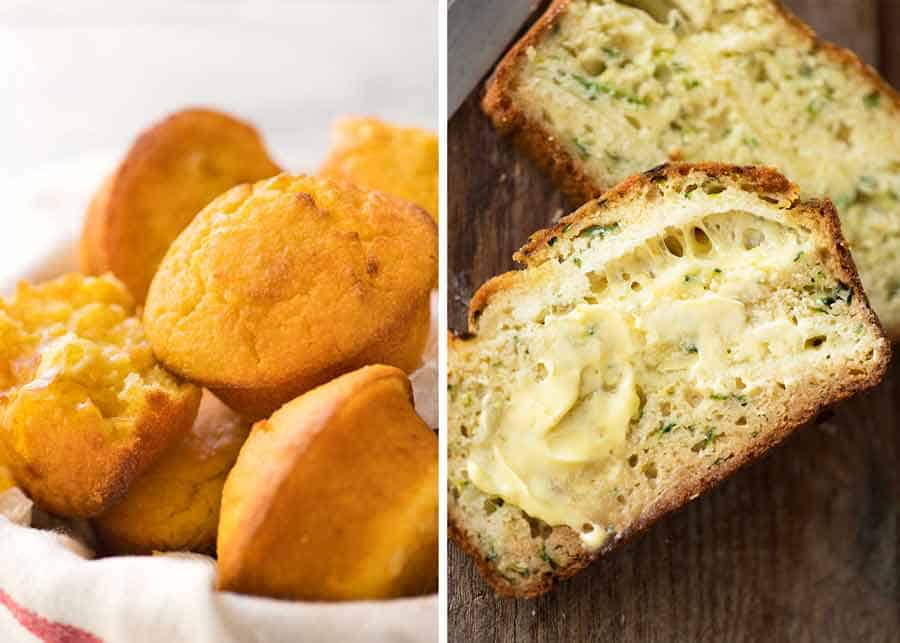 Bread and Muffin recipes