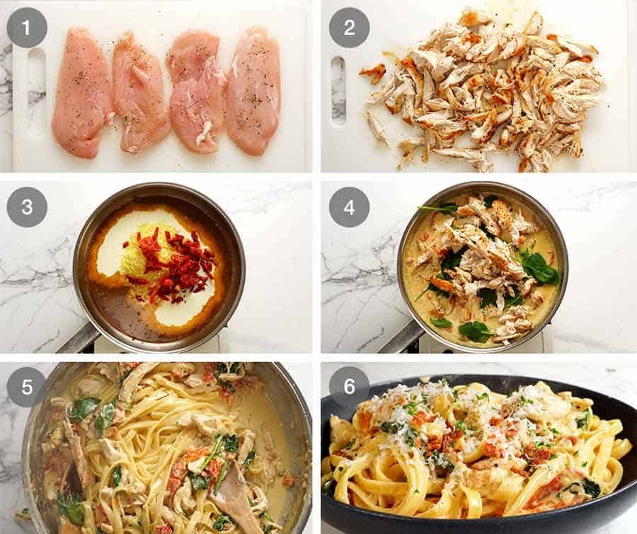 How to make the chicken pasta recipe of your dreams!
