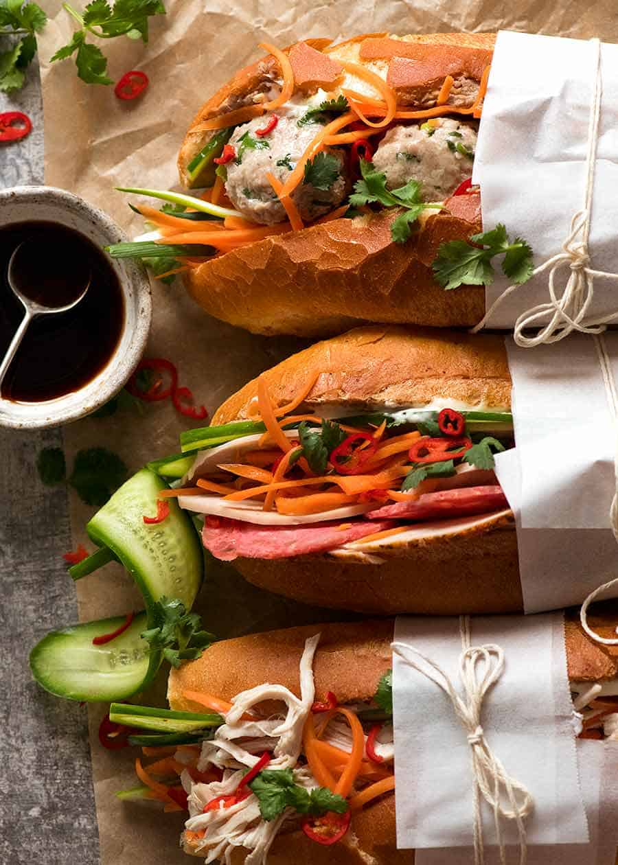 Banh Mi Vietnamese Sandwich Recipetin Eats
