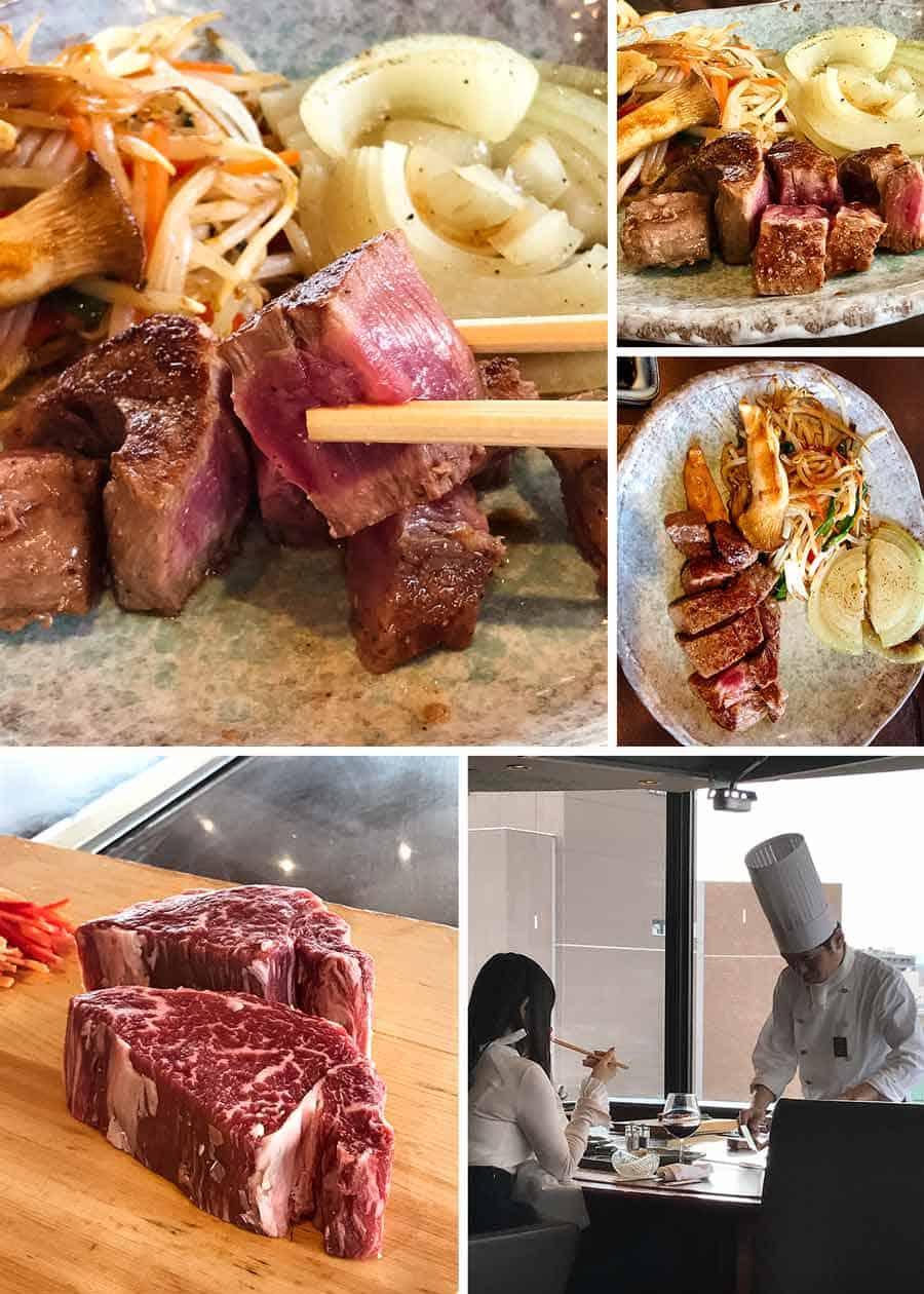 Akihabara - Teppanyaki Wagyu Beef